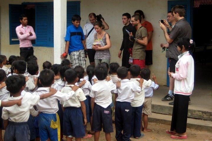 Une école dans la capagne de Siem Reap