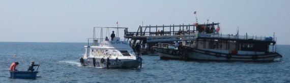 Bateaux de plongée