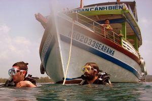 Le bateau du club Searama