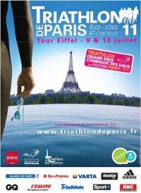 affiche triathlon 2011