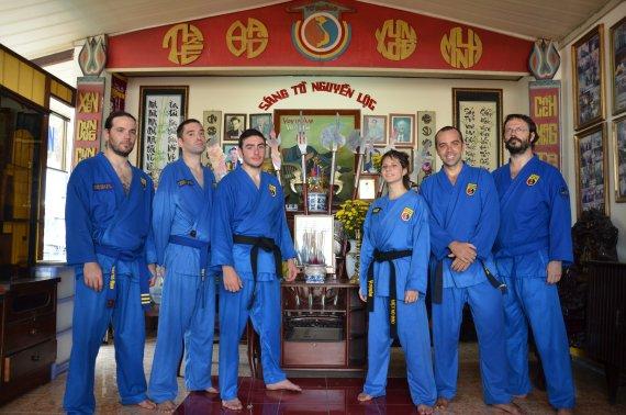 Photo de groupe au To Duong