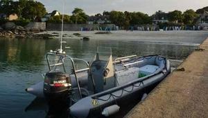 le bateau du club Actisub