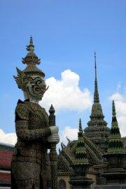 Bangkok statue du grand palais
