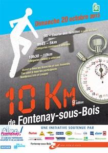 10 km de Fontenay