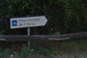 Panneau direction canal